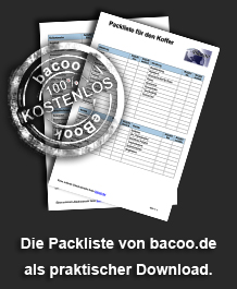 Packliste E-Book